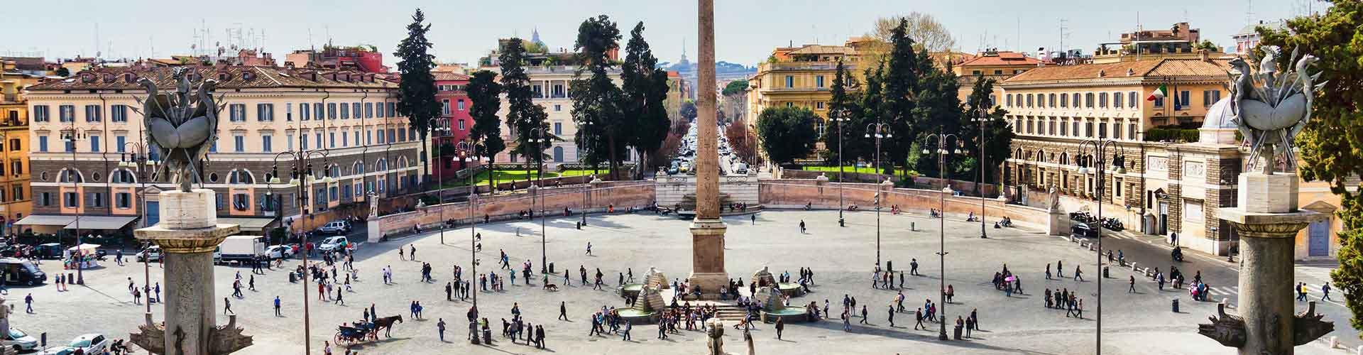 Řím - Hostelů v blízkosti Piazza del Popolo. Mapy pro Řím, fotky a recenze pro každý hostel v Řím.