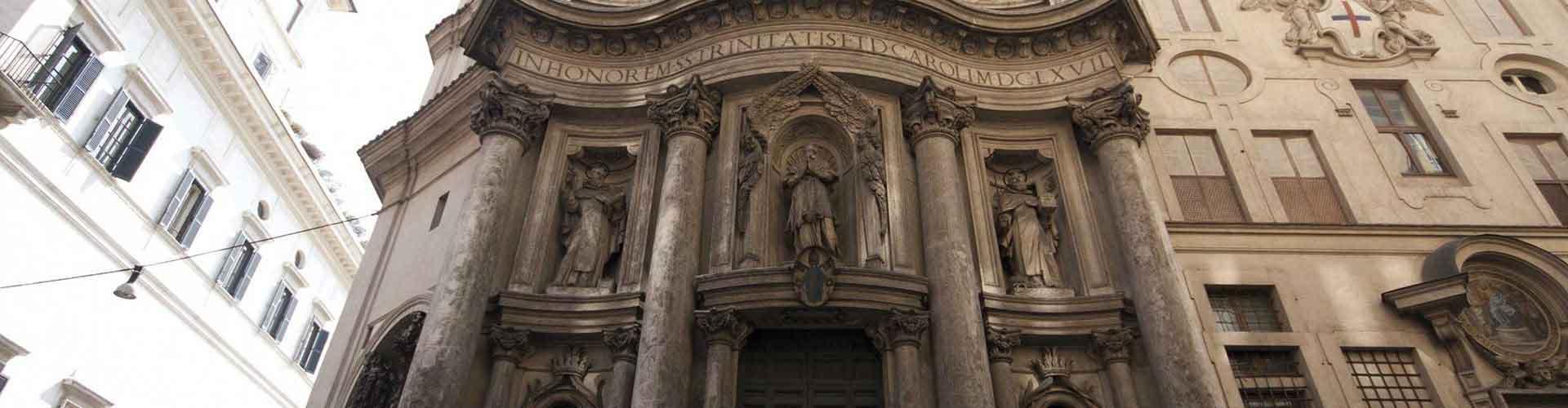 Řím - Hostelů v blízkosti San Carlo alle Quattro Fontane. Mapy pro Řím, fotky a recenze pro každý hostel v Řím.