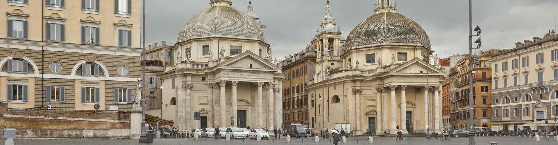 Řím - Hostelů v blízkosti Santa Maria del Popolo. Mapy pro Řím, fotky a recenze pro každý hostel v Řím.