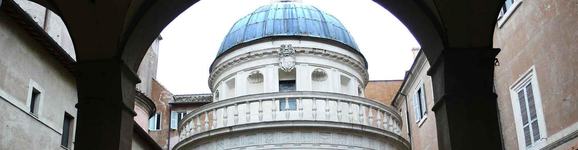Řím - Hostelů v blízkosti Tempietto. Mapy pro Řím, fotky a recenze pro každý hostel v Řím.