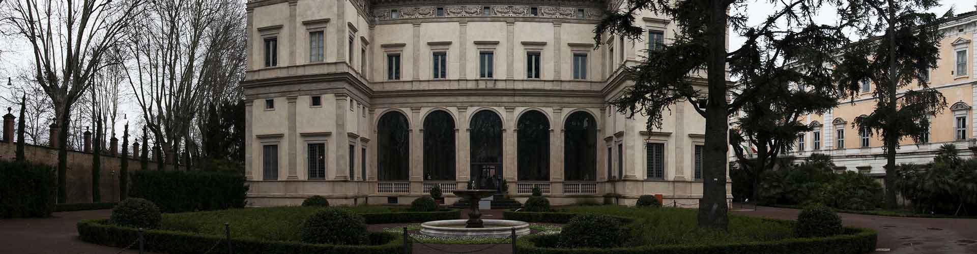 Řím - Hostelů v blízkosti Villa Farnesina. Mapy pro Řím, fotky a recenze pro každý hostel v Řím.