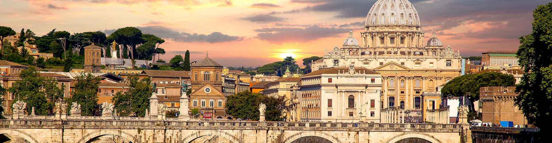 Řím - Hostelů v Řím. Mapy pro Řím, fotky a recenze pro každý hostel v Řím.