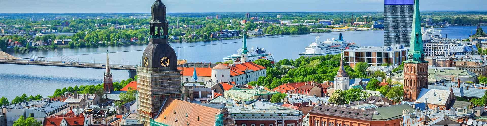 Riga - Hostelů v Riga. Mapy pro Riga, fotky a recenze pro každý hostel v Riga.