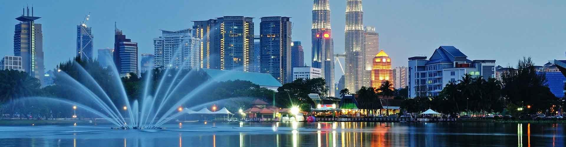 Kuala Lumpur - Hostelů v Kuala Lumpur. Mapy pro Kuala Lumpur, fotky a recenze pro každý hostel v Kuala Lumpur.