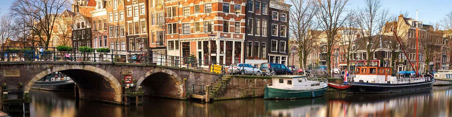 Amsterodam - Hostelů v Amsterodam. Mapy pro Amsterodam, fotky a recenze pro každý hostel v Amsterodam.
