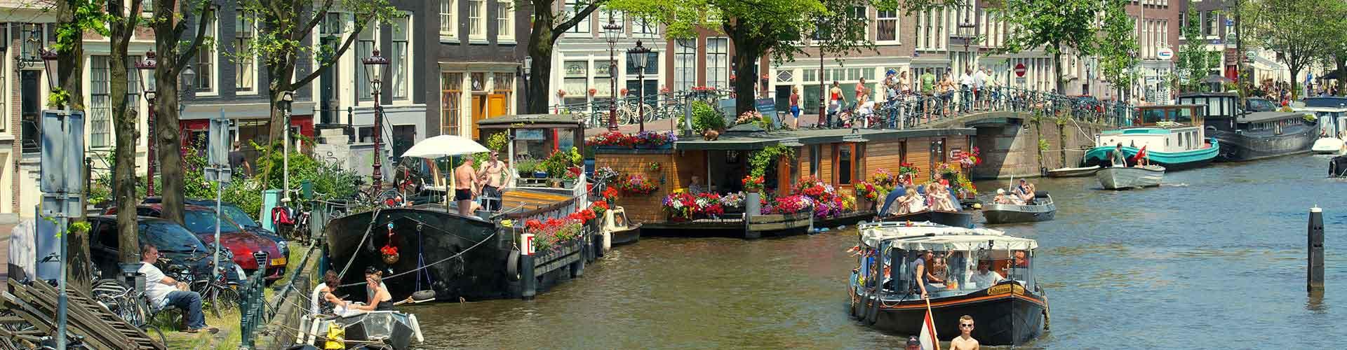 Amsterodam - Hostelů ve čtvrti Amsterdam Centrum. Mapy pro Amsterodam, fotky a recenze pro každý hostel v Amsterodam.