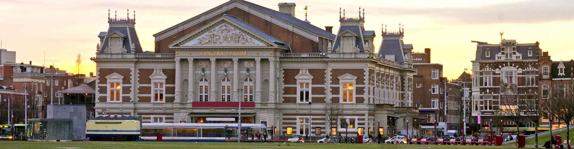 Amsterodam - Hostelů v blízkosti Concertgebouw. Mapy pro Amsterodam, fotky a recenze pro každý hostel v Amsterodam.