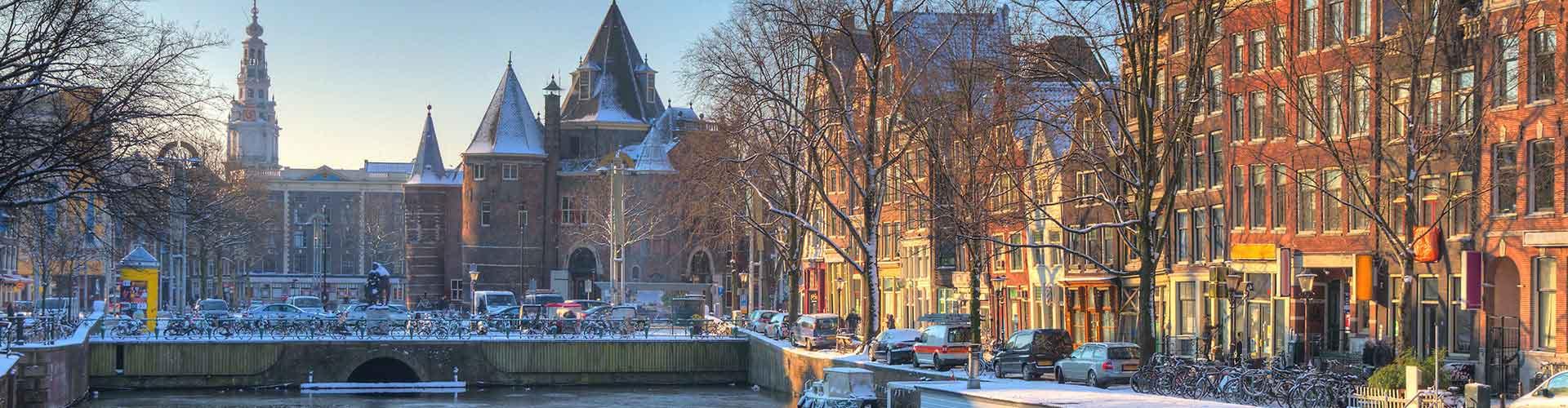 Amsterodam - Hostelů v blízkosti Nieuwmarkt. Mapy pro Amsterodam, fotky a recenze pro každý hostel v Amsterodam.