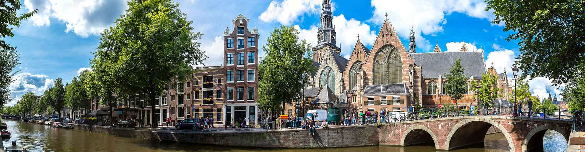 Amsterodam - Hostelů v blízkosti Oude Kerk. Mapy pro Amsterodam, fotky a recenze pro každý hostel v Amsterodam.