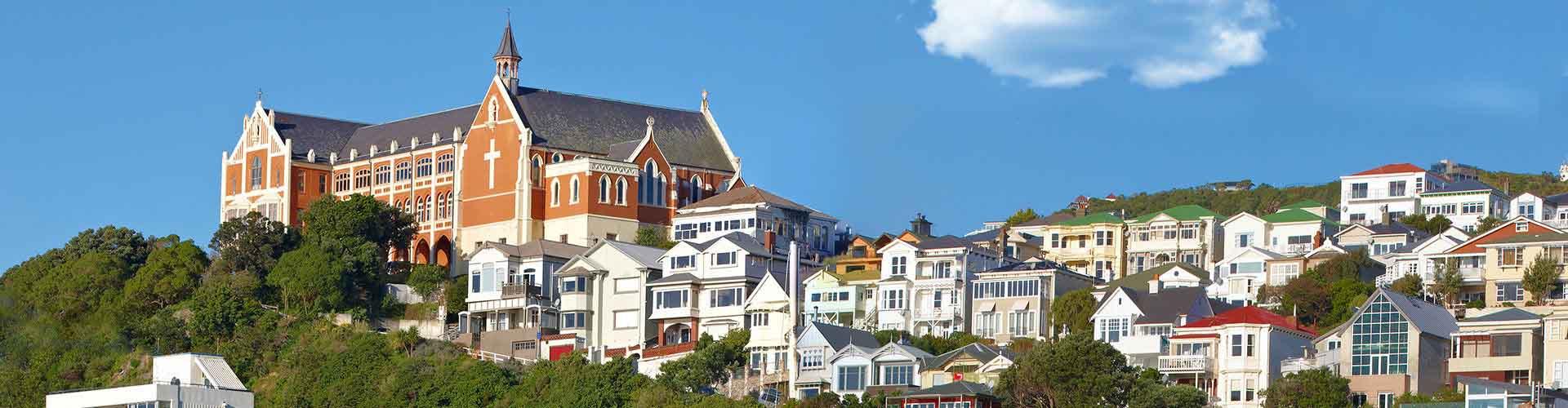 Wellington - Hostelů v Wellington. Mapy pro Wellington, fotky a recenze pro každý hostel v Wellington.