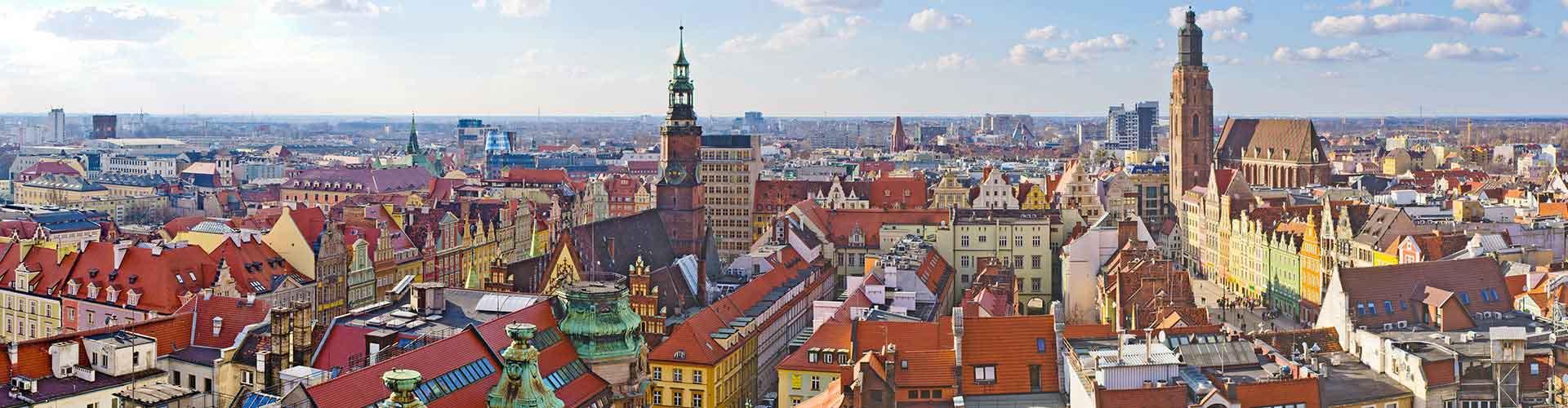 Wroclaw - hotely v Wroclaw. Mapy pro Wroclaw, fotky a recenze pro každý hotel - Wroclaw.