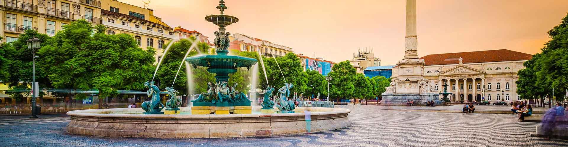 Lisabon - Hostelů ve čtvrti Baixa. Mapy pro Lisabon, fotky a recenze pro každý hostel v Lisabon.