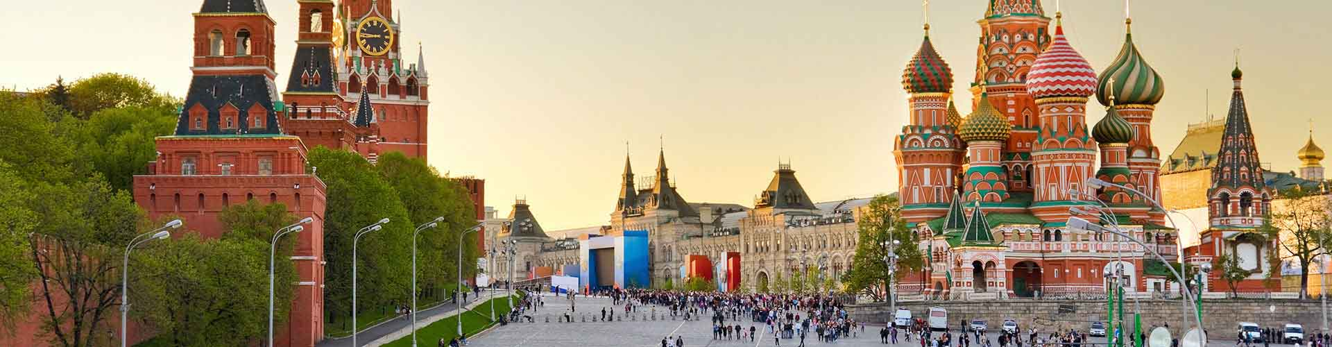Moskva - Hostelů v Moskva. Mapy pro Moskva, fotky a recenze pro každý hostel v Moskva.