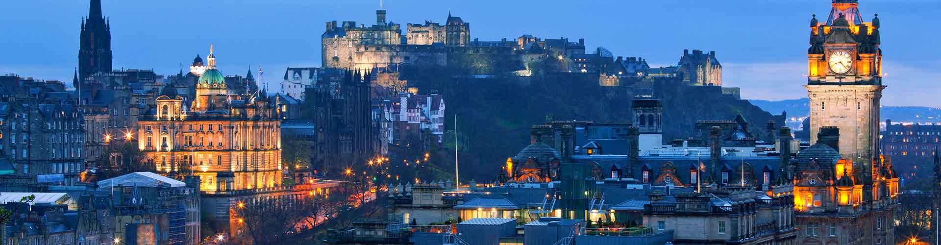 Edinburgh - Hostelů v Edinburgh. Mapy pro Edinburgh, fotky a recenze pro každý hostel v Edinburgh.