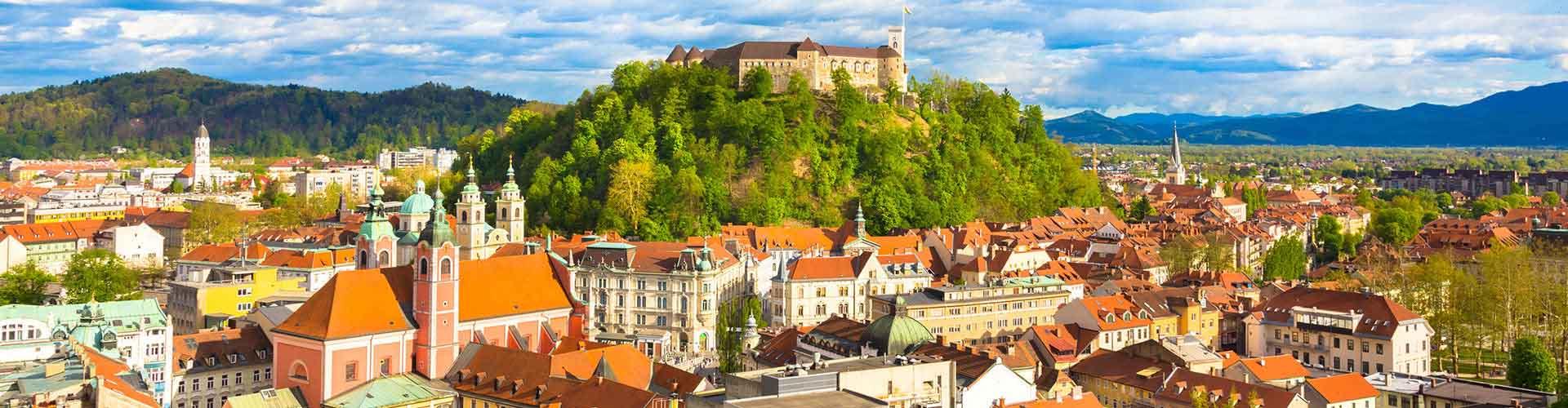 Ljubljana - Hostelů v Ljubljana. Mapy pro Ljubljana, fotky a recenze pro každý hostel v Ljubljana.