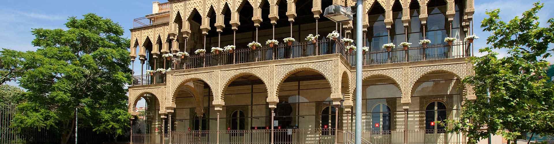 Barcelona - Hostelů ve čtvrti Horta-Guinardò. Mapy pro Barcelona, fotky a recenze pro každý hostel v Barcelona.