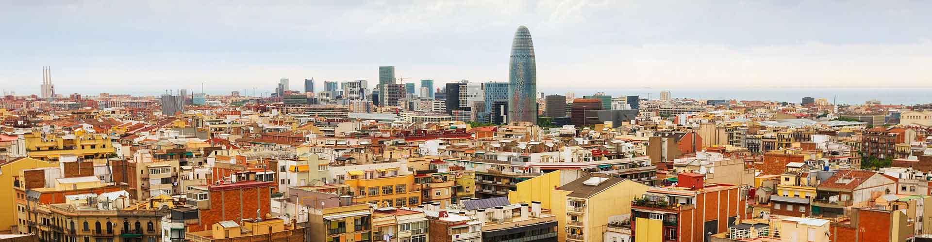 Barcelona - Hostelů ve čtvrti Sagrada Família. Mapy pro Barcelona, fotky a recenze pro každý hostel v Barcelona.