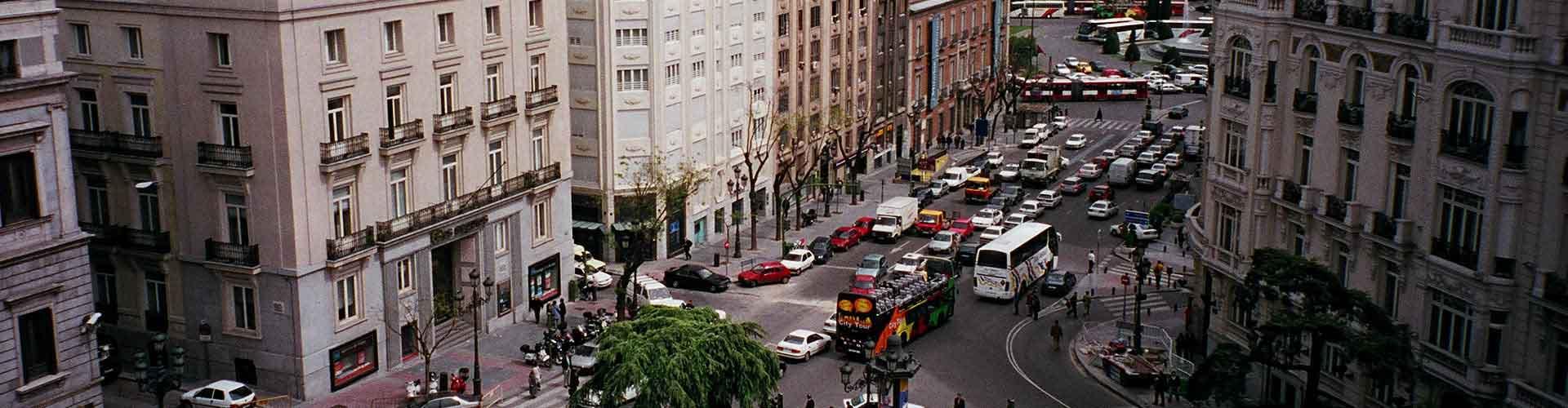 Madrid - Hostelů ve čtvrti Cortes. Mapy pro Madrid, fotky a recenze pro každý hostel v Madrid.