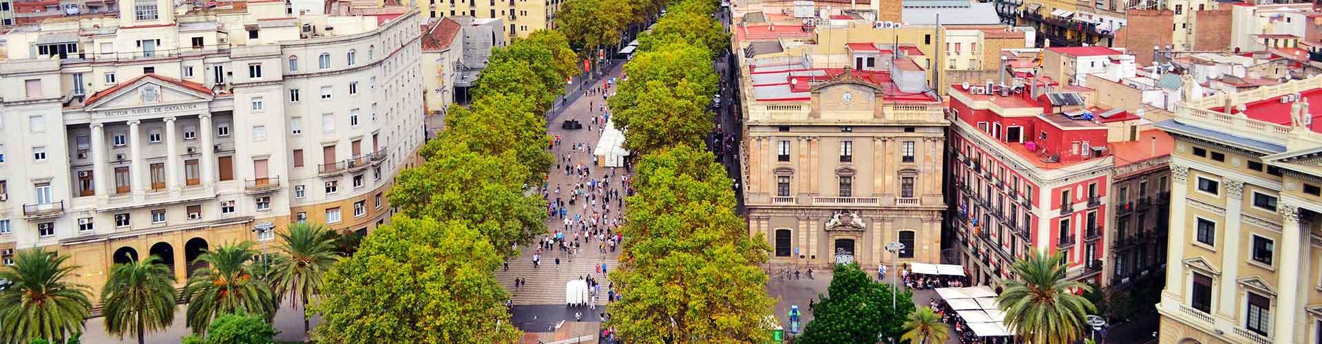 Barcelona - Hostelů v blízkosti Las Ramblas. Mapy pro Barcelona, fotky a recenze pro každý hostel v Barcelona.
