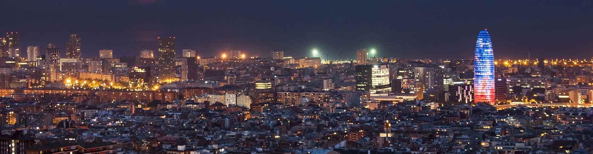 Barcelona - Hostelů v blízkosti Torre Agbar. Mapy pro Barcelona, fotky a recenze pro každý hostel v Barcelona.