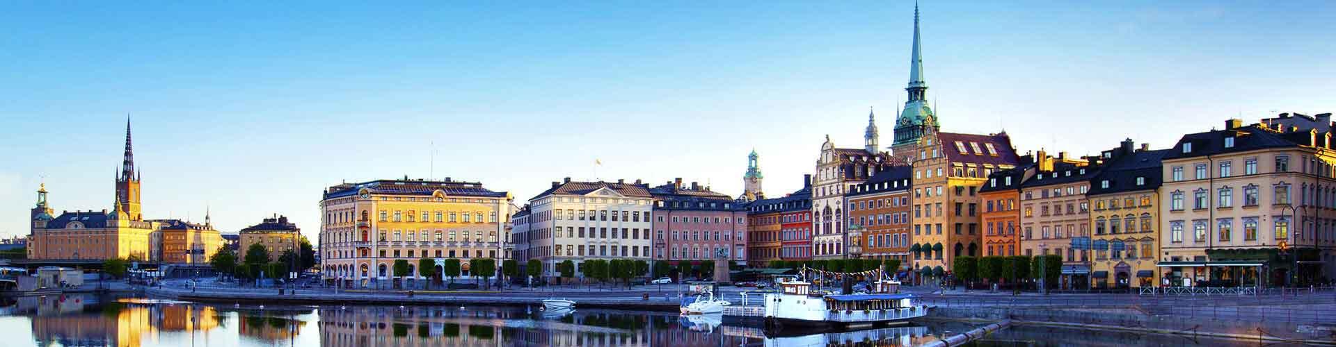 Stockholm - Hostelů v Stockholm. Mapy pro Stockholm, fotky a recenze pro každý hostel v Stockholm.