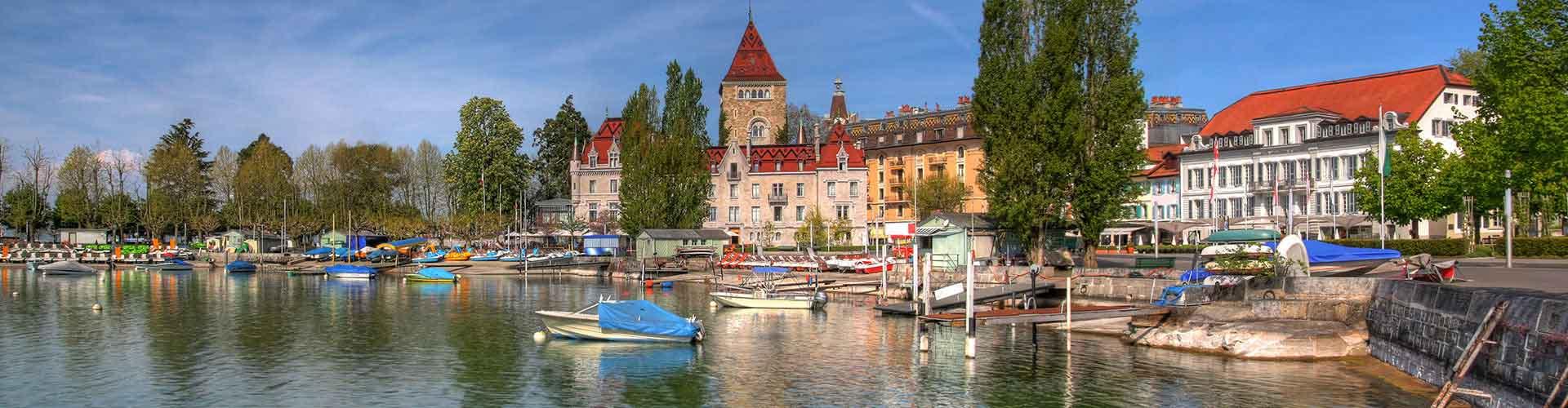 Lausanne - Hostelů v Lausanne. Mapy pro Lausanne, fotky a recenze pro každý hostel v Lausanne.