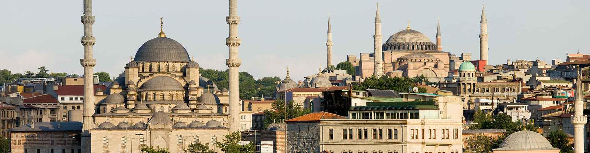 Istanbul - Hostelů v Istanbul. Mapy pro Istanbul, fotky a recenze pro každý hostel v Istanbul.