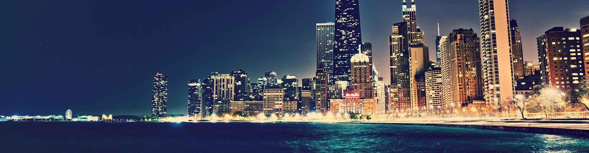 Chicago - Hostelů v Chicago. Mapy pro Chicago, fotky a recenze pro každý hostel v Chicago.