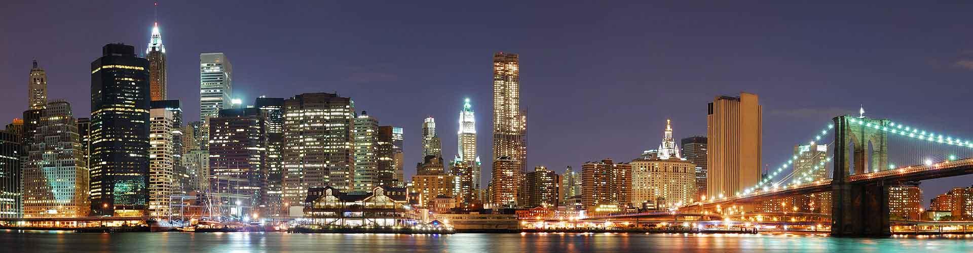 New York - Hostelů v New York. Mapy pro New York, fotky a recenze pro každý hostel v New York.