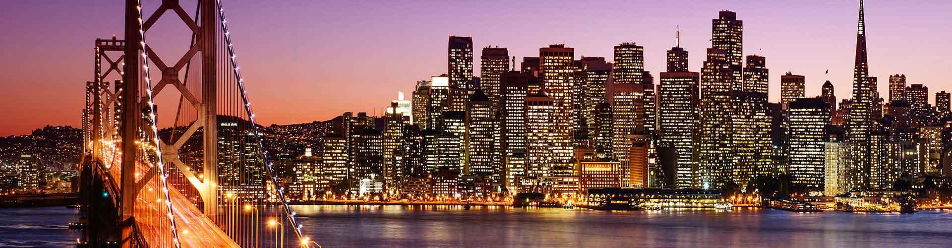 San Francisco - Hostelů v San Francisco. Mapy pro San Francisco, fotky a recenze pro každý hostel v San Francisco.