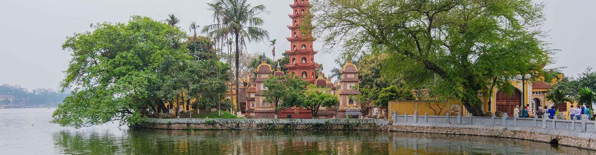 Hanoi - Hostelů v Hanoi. Mapy pro Hanoi, fotky a recenze pro každý hostel v Hanoi.