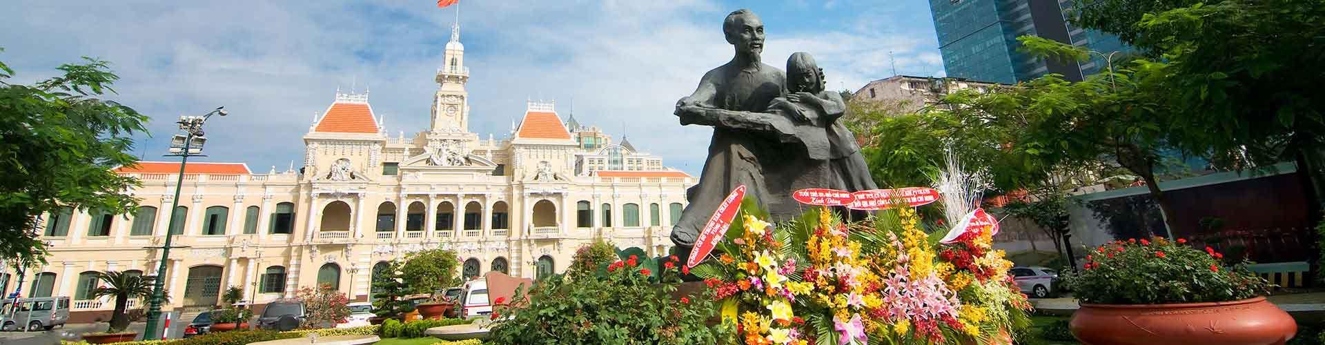 Ho Chi Minh City - Hostelů v Ho Chi Minh City. Mapy pro Ho Chi Minh City, fotky a recenze pro každý hostel v Ho Chi Minh City.