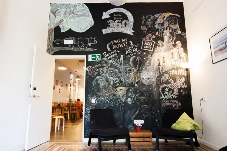 360 Hostel Arts & Culture; Společný prostor