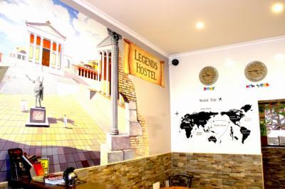 Hostely a ubytovny - Legends Hostel Rome