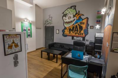Hostely a ubytovny - Hostel The MadHouse Prague