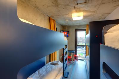 Hostely a ubytovny - MEININGER Hostel Berlin East Side Gallery