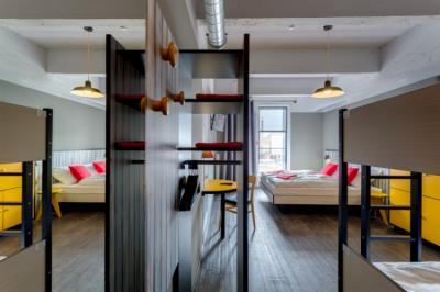 Hostely a ubytovny - MEININGER Hostel Brussel City Center