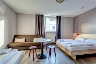 Hostely a ubytovny - MEININGER Hostel Vienna Central Station